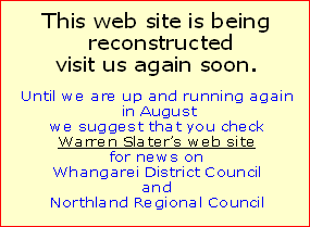 This web site is being